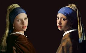 girl with the pearl earring painting paintings johansson artwork johannes vermeer the girl