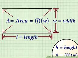 4 ways to find the width of a rectangle wikihow
