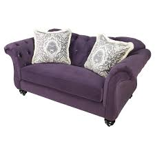Sofas And Loveseats Cheap Furniture Purple Loveseat For Contemporary Lifestyle U2014 Threestems Com