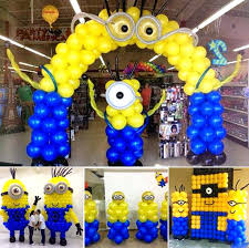 minions birthday party minion balloon decorations best balloons ideas on minions birthday