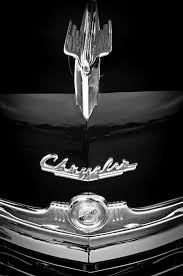1949 chrysler town and country convertible ornament and