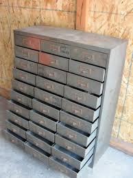 Vintage Metal Storage Cabinet Incredible Metal Drawers Storage 667 Best Drawers Cupboards