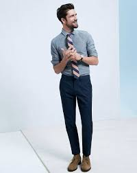 mens light blue dress pants how to wear a blue chambray dress shirt 27 looks mens fashion navy