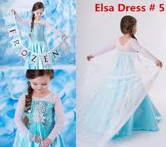 Anna Frozen Costume Princess Elsa Anna Frozen Dressup Costume Dress Ball Gown Toddler