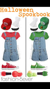 Mario Halloween Costumes Girls Mario Luigi Halloween Costumes Teen Girls Halloween