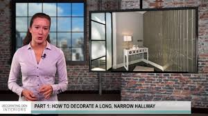 How To Decorate A Hallway How To Decorate A Long Narrow Hallway Part 1 2 Youtube