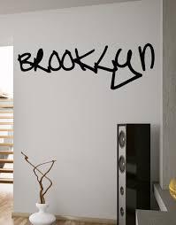 amazon com stickerbrand urban vinyl wall art nyc new york city amazon com stickerbrand urban vinyl wall art nyc new york city brooklyn graffiti tag wall decal sticker black 17