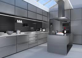 cuisines inox cuisine métal et inox 20 idées déco industrielles pour une