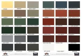 Exterior Paint Chart - exterior paint colour charts dulux home painting