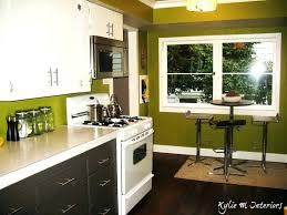 kitchen wall painting ideas 87 great attractive green kitchen walls with brown cabinets color