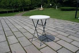 High Top Folding Table Outdoor High Top Table Gorgeous High Top Folding Table China