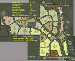 Princeton Map Whitewing Trails Master Plan Reserves 57 Acres For Mixed Use And