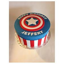 captain america cakes captain america clean shield cake cta