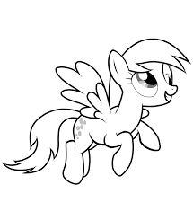 mlp coloring pages derpy throughout my little pony eson me