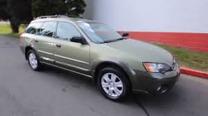 green opal car 2005 subaru outback 2 5i 56380025 champagne gold opal green