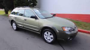 2005 Subaru Outback 2 5i 56380025 Champagne Gold Opal Green