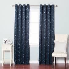 aurora home star struck 84 inch insulated thermal blackout curtain
