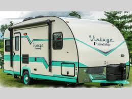 vintage friendship travel trailer rv sales 5 floorplans