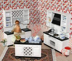 miniature dollhouse kitchen furniture aliexpress buy mordern wooden 1 12 miniature dollhouse