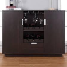 modern glass buffet cabinet wine cabinet bar dining buffet storage drawer glass home liquor pub
