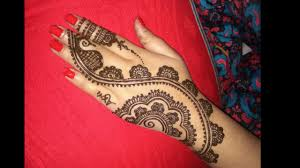 easy simple heena beautiful mehndi designs for back