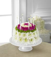 fds flowers ftd wonderful wishes floral cake bouquet blooms today