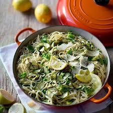 courgette cuisine pea courgette and mint pasta le creuset recipes
