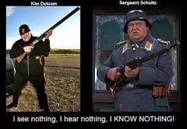 First Sergeant Meme - kim dotcom and sergeant schultz know your meme