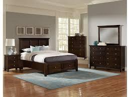 VaughanBassett Furniture Company Youth Merlot Triple Dresser BB - Discontinued vaughan bassett bedroom furniture