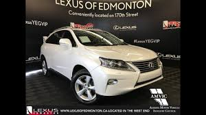 used lexus rx 350 with navigation used white 2014 lexus rx 350 premium package review athabasca