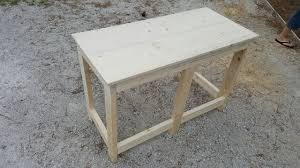 Building A Wooden Desk by Building A Wooden Desk For Under 50 Youtube
