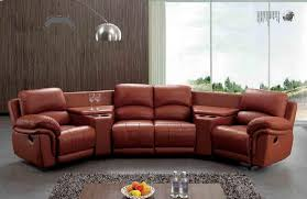 Curved Sectional Recliner Sofas Curved Sectional Recliner Sofas Majestic Faux Leather Cushion Back