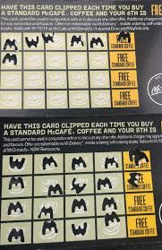 mcdonalds gift card discount mcdonald s loyalty card spot the sneaky trick