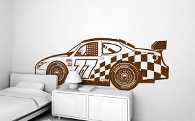 Racing Car XXL Wall Decal Nursery Kids Rooms Wall Decals Boy - Kids rooms decals