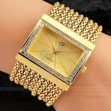 ladies watches bracelet style images Hot selling women wrist watches luxury gold silver color dial jpg