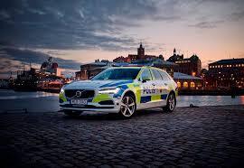 volvo eu volvo v90 police car standby ab