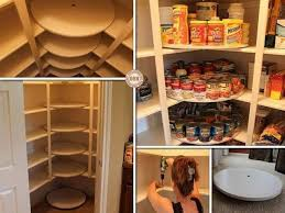how to add lazy susan disks to your pantry diy cozy home