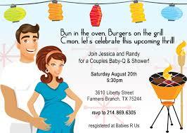 co ed baby showers retro coed baby bbq shower invitation babies shower invitations