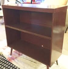 Mid Century Record Cabinet by Record Cabinet Makeover With Pure U0026 Original Paint