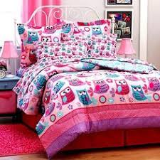 Comforter Bed In A Bag Sets Pink Owl Bedding Twin Or Full Comforter Set Bed In A Bag