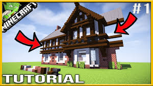 minecraft tudor house tutorial andyisyoda youtube