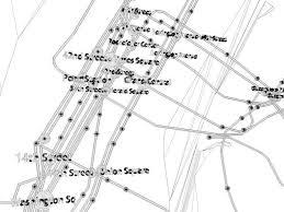 stl metro map 3d model york city not official subway map