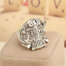 classic skeleton ring holder images 2018 drop ship movie jewelry punk ring the expendables lucky rings jpg