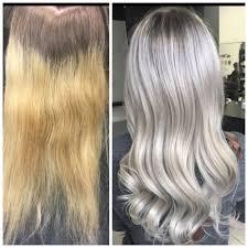 silver brown hair tag silver hair modern salon