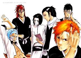 shonen hairstyles bleach hairstyles by sideburn004 on deviantart