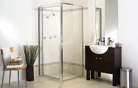 custom wardrobes shower screens mirrors melbourne premium full framed shower screen in contemporary bathroom