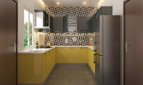Modular Kitchen Design Course by Buy Madeline U Shape Modular Kitchen Online In India Livspace Com
