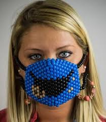 Kandi Mask The Radio Active Kandi Mask Kandi Mask Pinterest