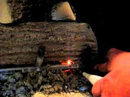gas fireplace pilot light out pilot lighting for gas logs youtube