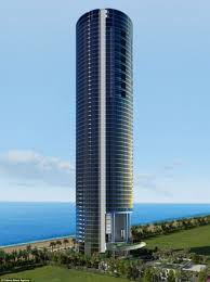 porsche design tower car elevator billionaire u0027s playground 650ft in the air the 60 storey porsche